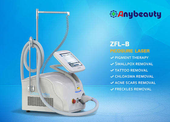 1064nm 532nm 755nm دستگاه Nd Yag Laser Tattoo Removal Machine با درمان سر کره